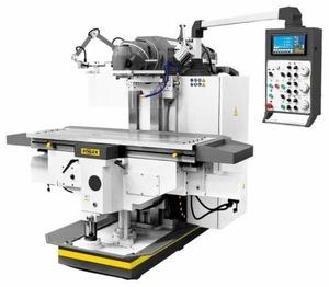 Широкоуниверсальный фрезерный станок Stalex MUF1600 Servo (стол 1600х500 мм., Мощность 7,5 кВт.)