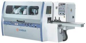 Четырехсторонний строгальный станок МВ 4015*5 - (шп. 5, сечение 150*100 мм, мощность 29,25  кВт, n=6000 об/мин, m  2900 кг)  V-HOLD МВ, Китай