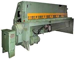 Н3418А - Ножницы гильотинные пневмомеханические (лист 6,3х3150 мм)