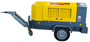 Винтовой дизельный компрессор DALGAKIRAN PA 100 - 10