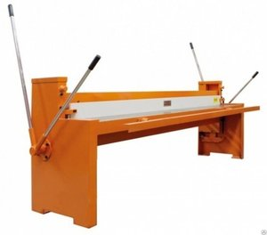 Механические гильотинные ножницы Stalex Q01-0.8X2500