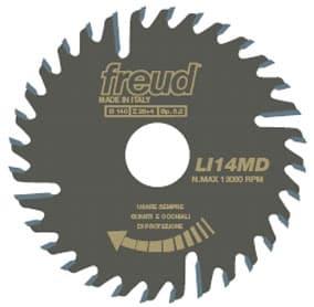 Пила дисковая  LI14MD/LI14MS.FREUD подрезной серии LI