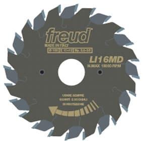 Пила дисковая  LI16M. FREUD подрезной серии LI