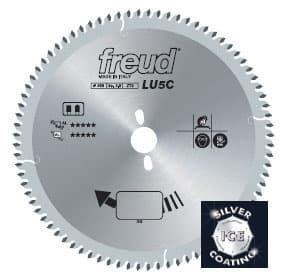 Пила дисковая  LU5C. FREUD для цветных металлов