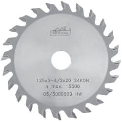 ПКА подрезной пильный диск конусообразный
