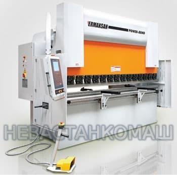 Листогибочный пресс фирмы Ermaksan Power Bend PRO 1270-60 с контроллером CybTouch 12