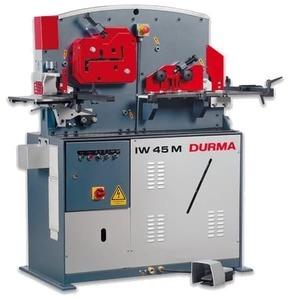 Пресс-ножницы комбинированные фирмы Durma, модели IW-45M, IW-60H