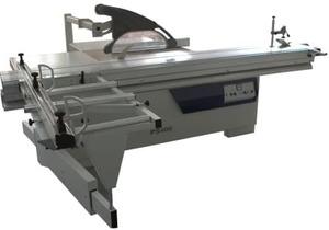 RIKON  PS-400 - Форматно-раскроечный станок  ( ролики. L-3200мм, 5,5+0,55кВт, 400(30), 120(20), 0-45°, 760кг. Электро подъем и наклон основной пилы.)
