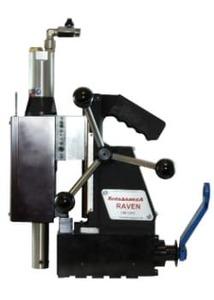 RAVEN (МСС-52П) - Магнитный пневматический сверлильный станок, диаметр сверления до 50 мм.