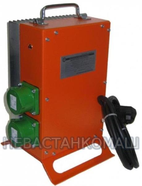 Инвертор глубинного вибратора ИСП-42/24 (ИСП-02) (220В~1ф, 50Гц / 42В~3ф, 200Гц, 24А) 045-0240