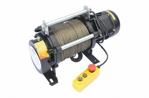 Лебедка электрическая Zitrek KCD-1000/2000/380v канат 100м 001-5434