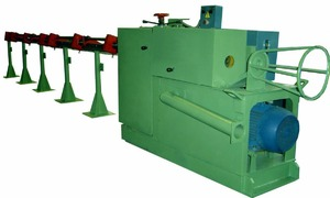 СМЖ-357 - Правильно-отрезной автомат, диаметр проволоки 4 - 10 мм.