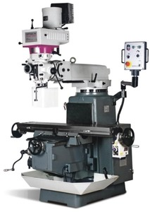 Opti MF4 Vario - DPA - Станок универсально-фрезерный (стол 1370х254 мм., Мощность 3,75 кВт.)