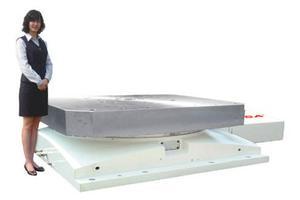 Большой горизонтальный одноосевой поворотный стол ЧПУ HRT-400 GSA+