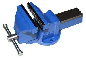 """Тиски Слесарные 100 мм (4"""") стальные неповоротные облегченные без наковальни (LT96304) """"CNIC"""" (упакованы по 4шт.)"""