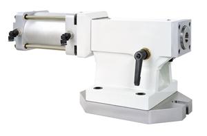 Задняя бабка с пневматическим и гидравлическим поджимом пиноли TS-B255 (P/H)