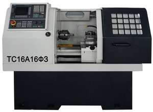 ТС16А16Ф3, Токарные станки с ЧПУ Siemens 808, диаметр обработки над станиной 300 мм.