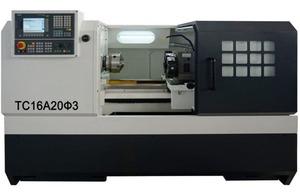 ТС16А20Ф3, Токарные станки с ЧПУ Siemens 808D, диаметр обработки над станиной 400 мм.
