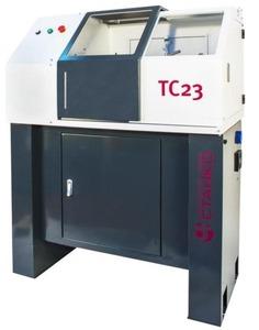 Токарный настольный станок с ЧПУ Optimum ТС23