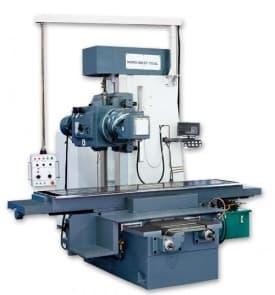 Weida X716 - Тяжелый широкоуниверсальный фрезерный станок (стол 2500x579 мм., Мощность 16 кВт.)