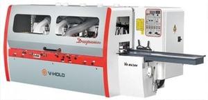 VH-M 630 - Четырехсторонний строгальный станок (шп. 6, сечение 300*200 мм, мощность 90  кВт, n=6000 об/мин, m= 10500  кг)  V-HOLD, Китай