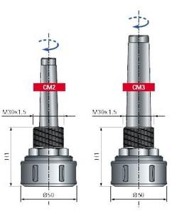 Высокоточный зажимной патрон для станков с ЧПУ MP04MD