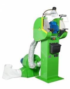 Точильно-шлифовальный станок ВЗ-879-01 (ВЗ-379-01) с пылесосом