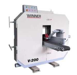 Горизонтальный ленточно-делительный 2-пильный станок WINNER V-200