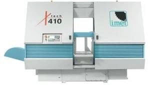 X-Tech 410 - Автоматический ленточнопильный станок, диаметр круглой заготовки 410 мм.