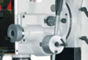 JET JMD-45LPFD  Ускоренный процесс обработки  Блок автоматической подачи фрезерного станка с редуктором Jet Jmd-45PF заметно убыстряет процесс работы